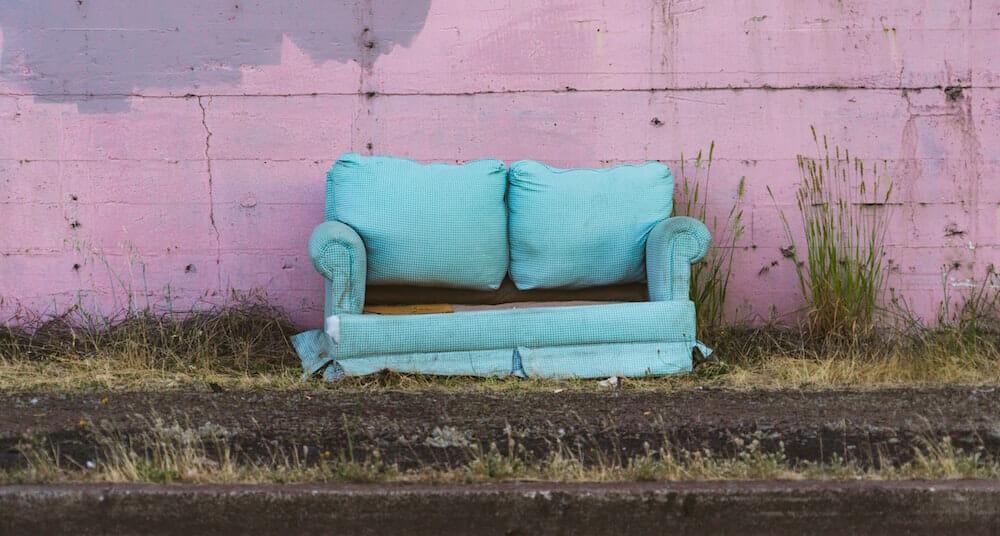 Dumpster Rental for Furniture