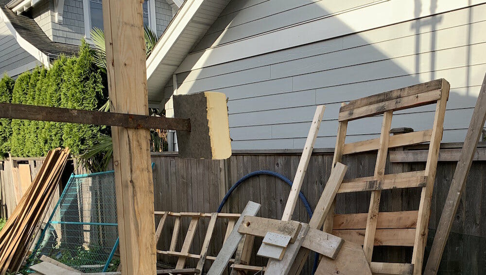 Dumpster Rental for Home Remodel
