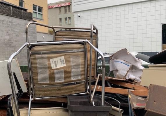 Dumpster Rental for Strorage Facility