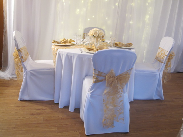 gold chair covers to rent swivel and ottoman sets the wedding trend demand of for in michigan tile pix plain cover
