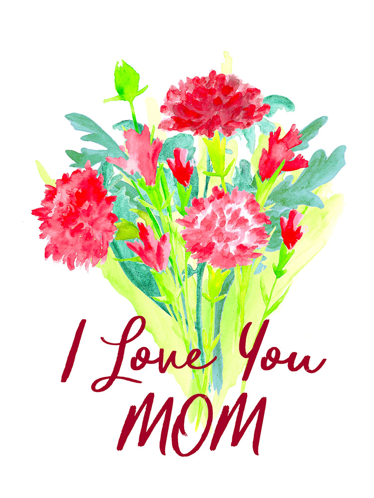 photo about Free Printable Mothers Day Cards From Husband to Wife identified as Freebies Archives - Reasonably priced Clip Artwork