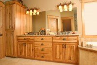 Birch Bathroom Vanity Cabinets