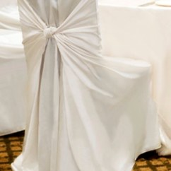 Chair Cover Elegance Outdoor Bistro Chairs White Universal Affordable Inc