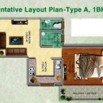 pyramid affordable housing gurgaon sector 70a 1BHK TYPE-A
