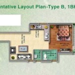 Pyramid Affordable Housing Gurgaon 1 bhk TYPE-C