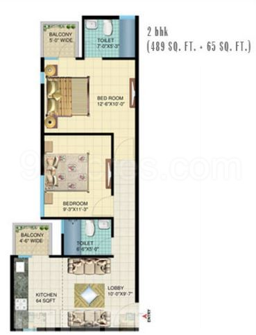 Signature Global Sector 107 Floor 2 bhk
