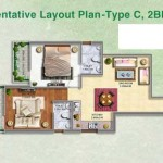 affordable housing project in sector 70a gurgaon 2BHK TYPE-C