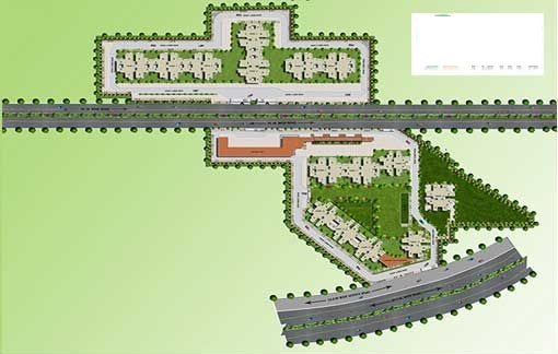 Pyramid affordable housing projects in gurgaon Site Plan