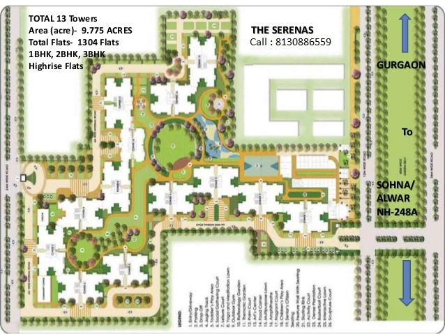 Gurgaon signature global synera site plan