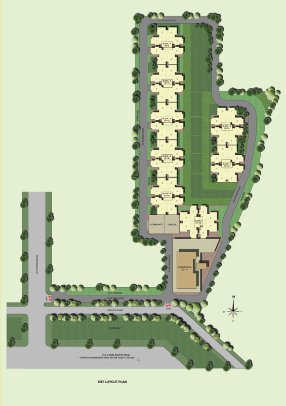 affordable housing project in sector 102 gurgaon site plan