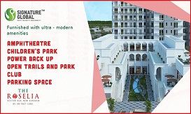 Signature Global The Roselia Ready to Move Flats in Gurgaon for Sale