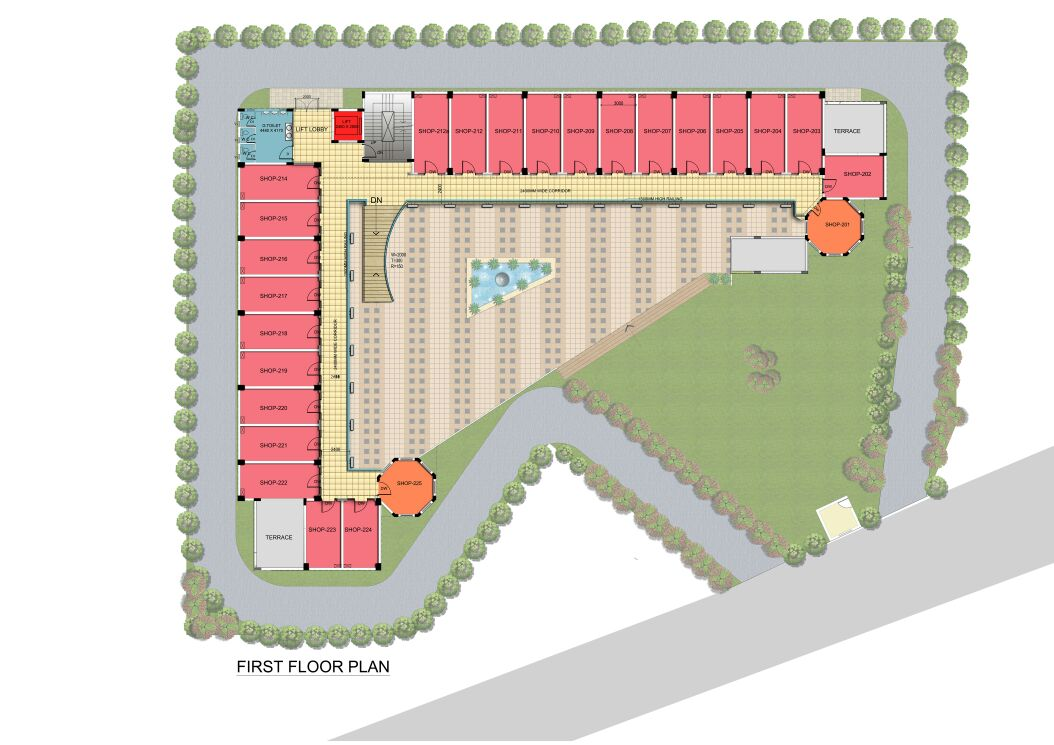 GLS CROWN AVENUE FLOOR PLAN