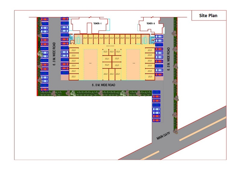 gurgaon signature global 63A site plan