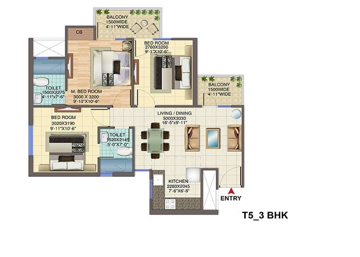 Signature global 79 Floor 3 bhk