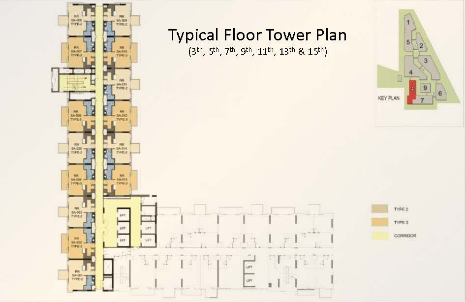 M3M royal regalia floor plan