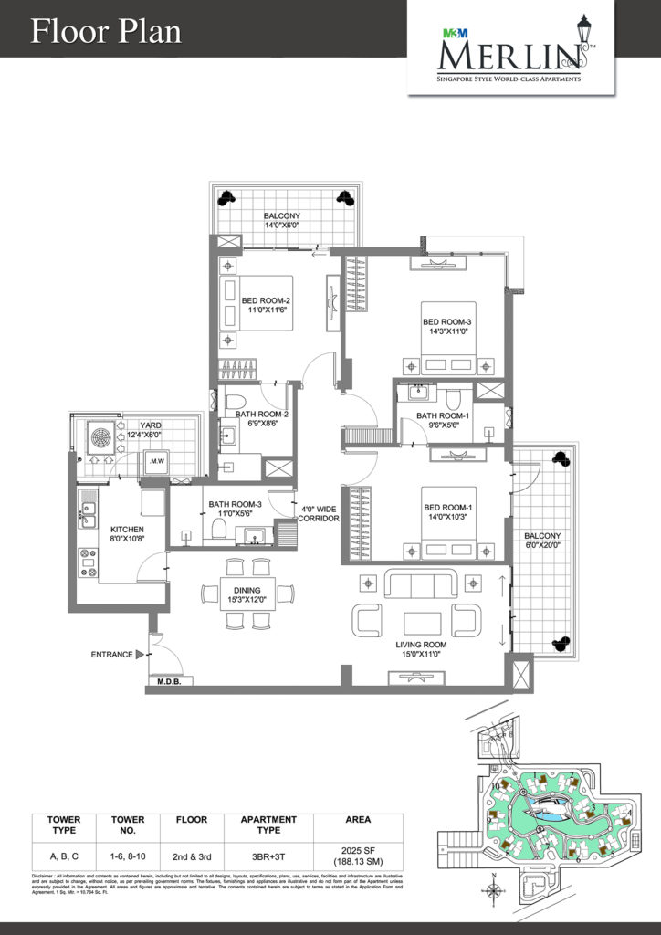 M3M Merlin Sector 67 Gurgaon Residential Project