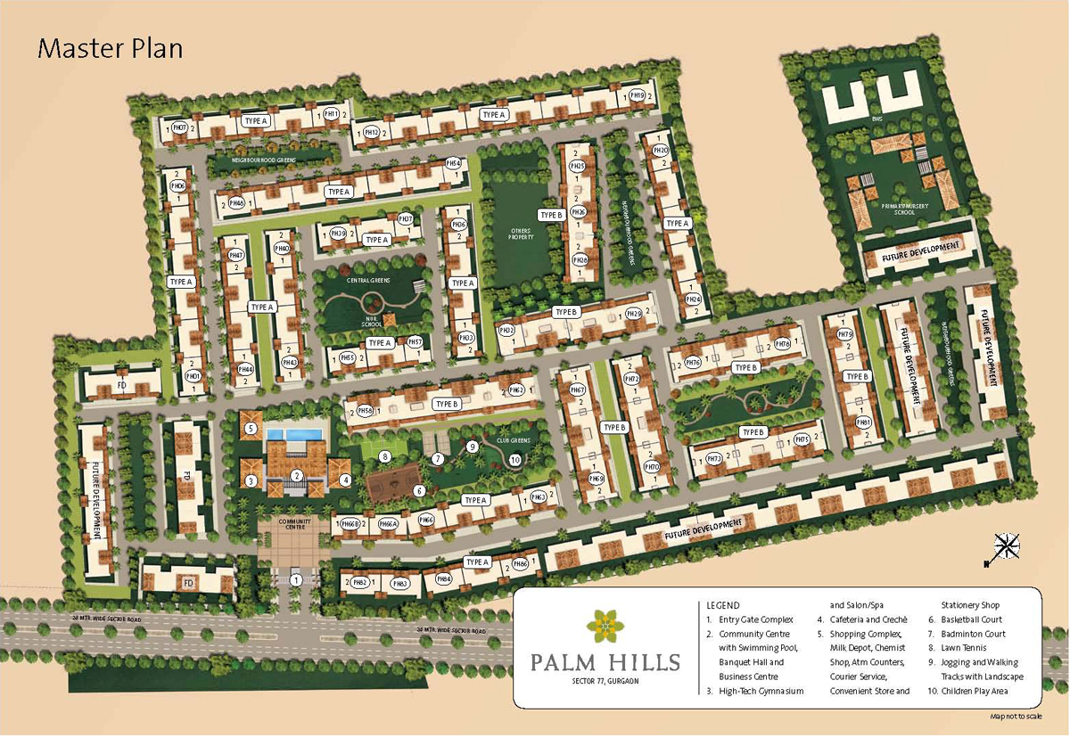 MGF Palm Hills Site Plan