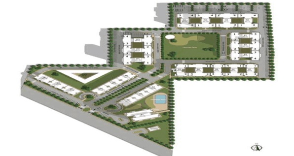 Vatika lifestyle homes site plan