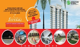 Signature Global the Serenas Sector 36 Gurgaon