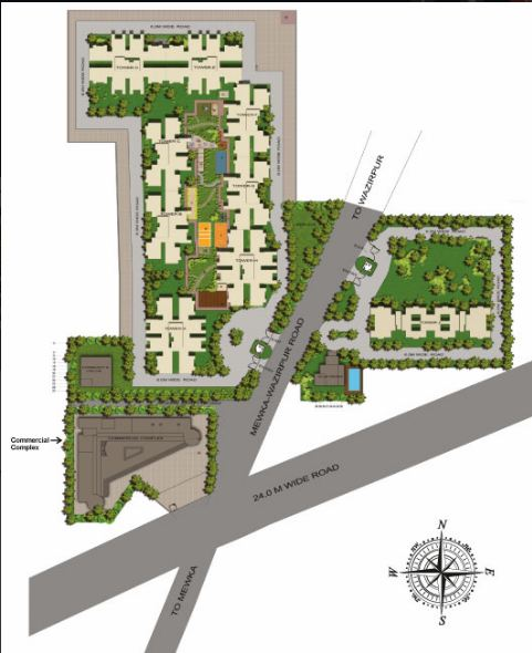 gls crown avenue Site plan