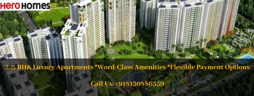 Hero homes gurgaon banner