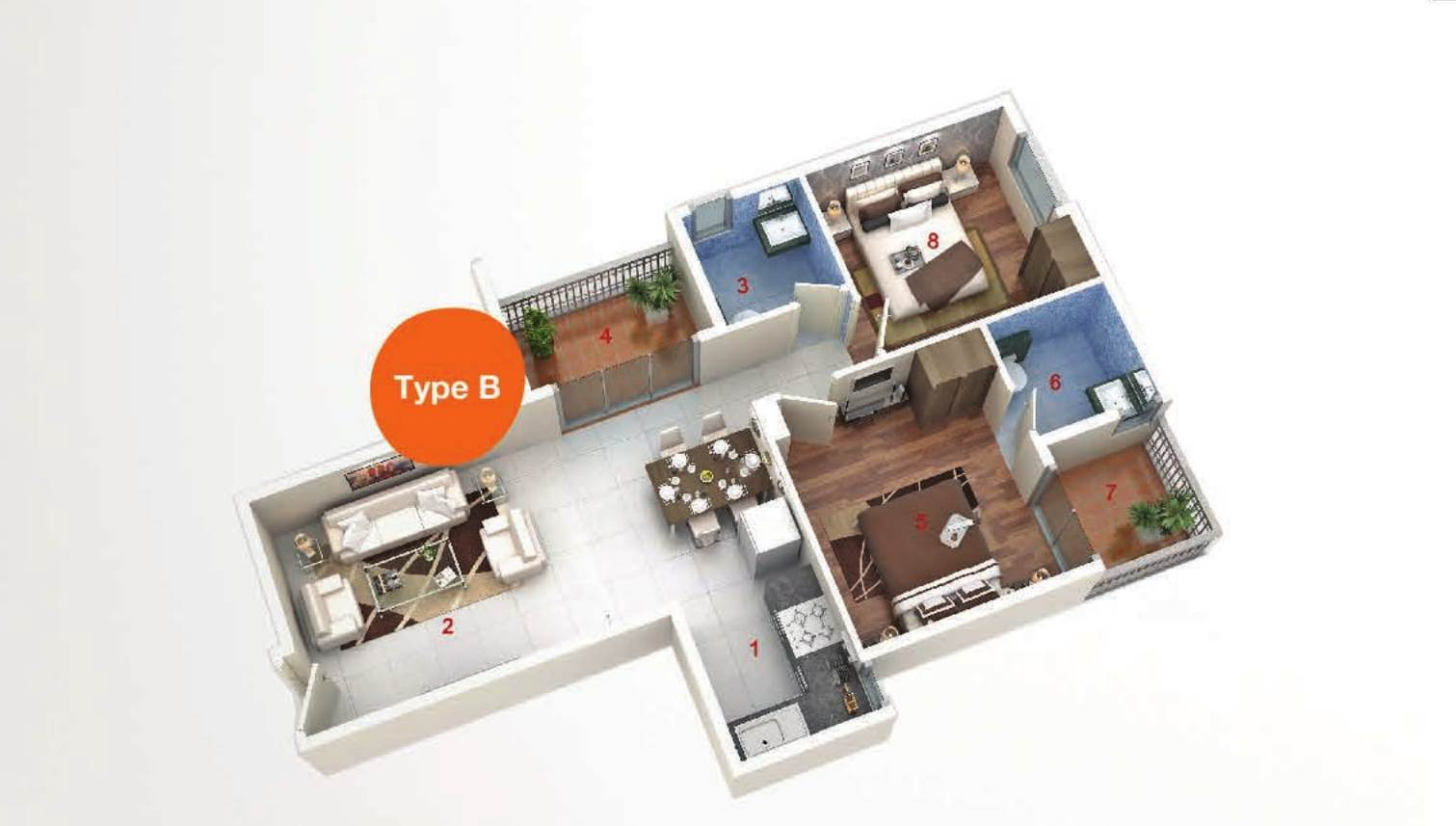 AASHIYARA floor plan type b