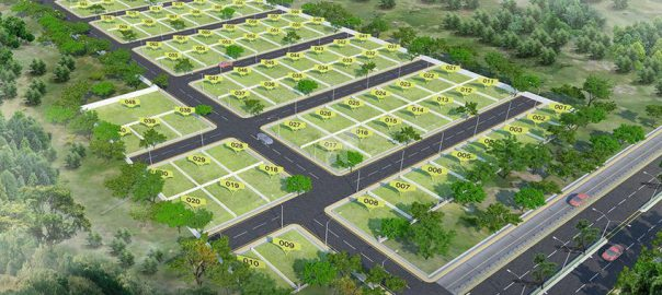 paras ekam homes plot layout
