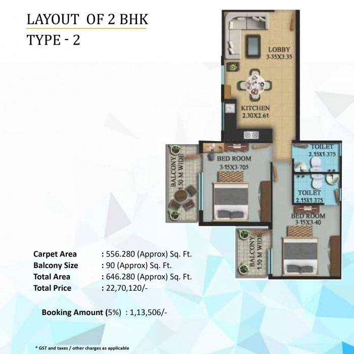 OSB The Venetian floor plan