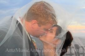 Amanda & David, Outer Banks Weddings photo by ARTZ MUSIC & PHOTOGRAPHY / affordableOBXweddings.com.