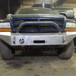 Dodge Dakota Durango Modular Front Bumper W Bullbar Affordable Offroad
