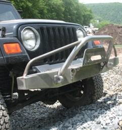 elite prerunner winch front bumper jeep cj yj tj lj 54 06 affordable offroad [ 2048 x 1536 Pixel ]