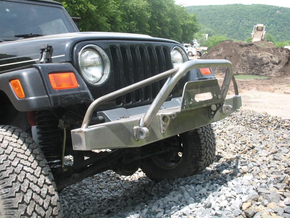 medium resolution of elite prerunner winch front bumper jeep cj yj tj lj 54 06 affordable offroad