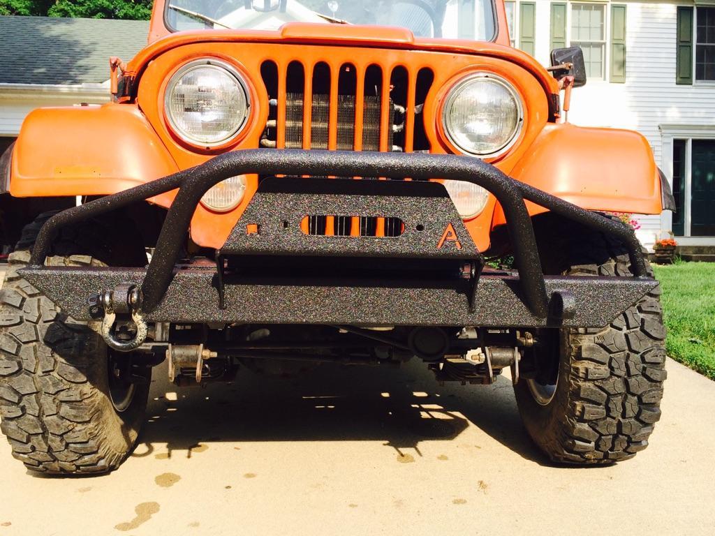 hight resolution of home jeep wrangler cj yj tj lj 54 06 affordable prerunner winch front bumper jeep cj yj tj lj 54 06