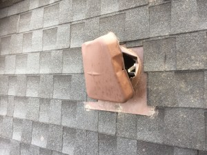 Metal Roof Vents Are Not Raccoon Or Squirrel Proof - Affordable Pest Removal Tips - Affordable Raccoon Removal Toronto