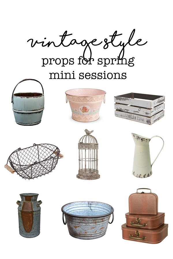 Spring And Easter Mini Session Props Affordable Photography Props