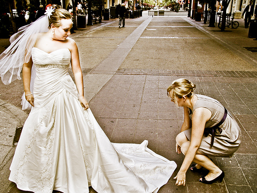 What Stains Are Removed During The Wedding Dress Cleaning