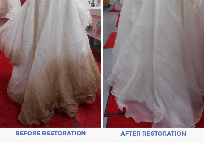 Wedding Dress Preservation Vs Restoration