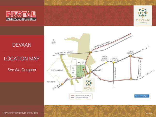 Pivotal Devaan Location Map