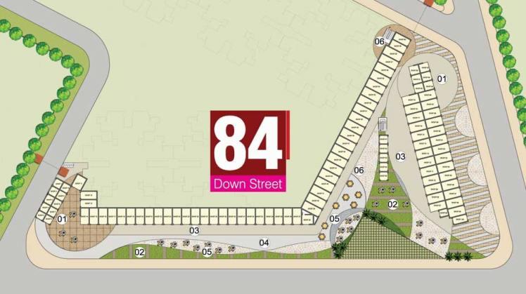 Pivotal Down Street Sector 84 Site Plan