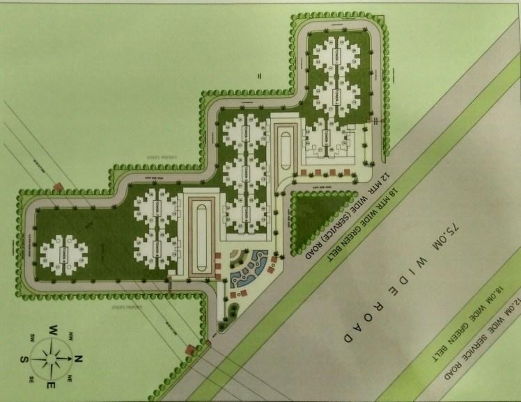 Pivotal Ridhi Sidhi Sector 99 Gurgaon Site Plan