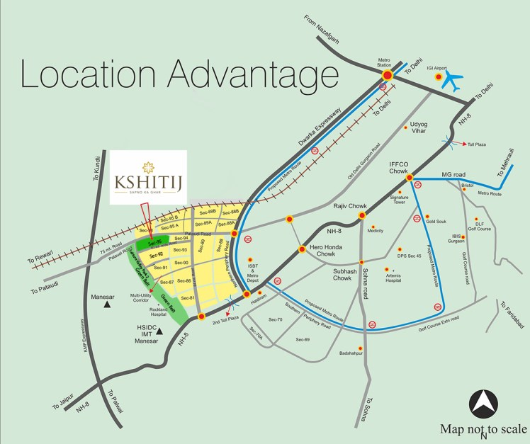 Ramsons Kshitij Location Map