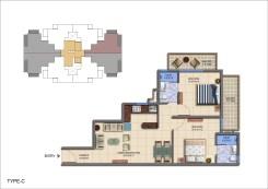 Roselia Type c Floor Plan