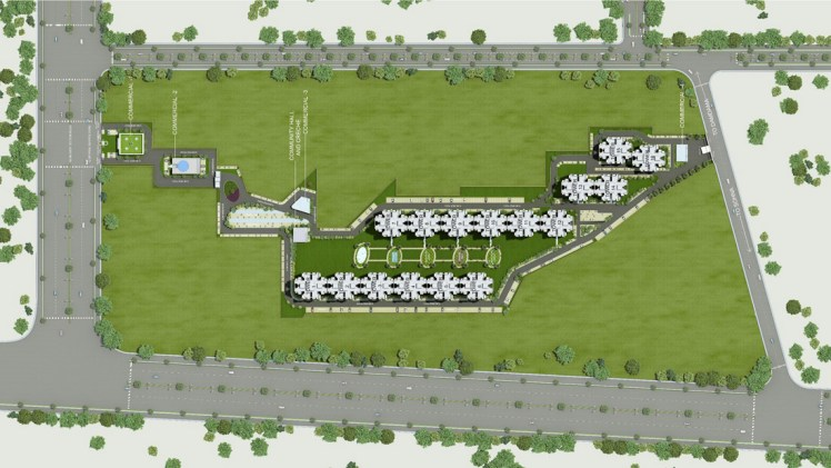 Gls Arawali Homes Site Plan