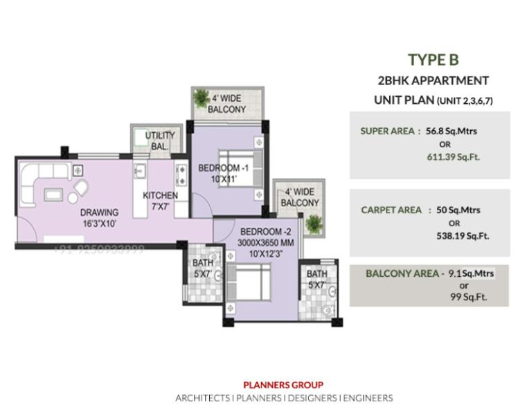TYPE-B-2BHK-APPARTMENT