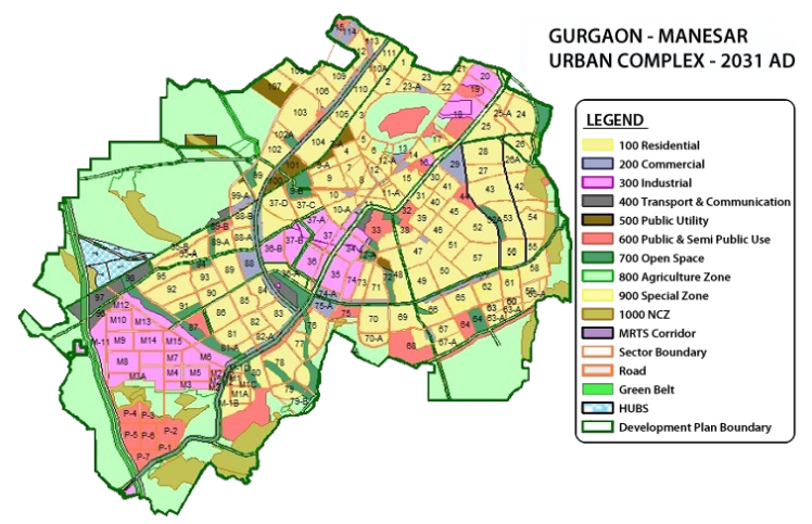 gurgaon-master-plan-2031