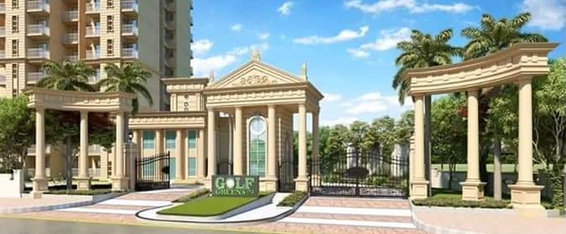 exterior entrance gate signature global golf green