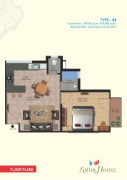 Type A4 - 1Bhk
