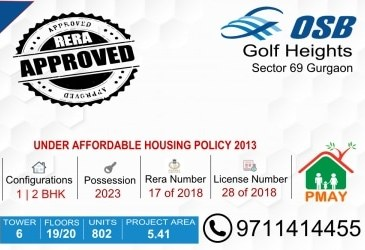 Osb Golf Heights Sector 69 Gurgaon