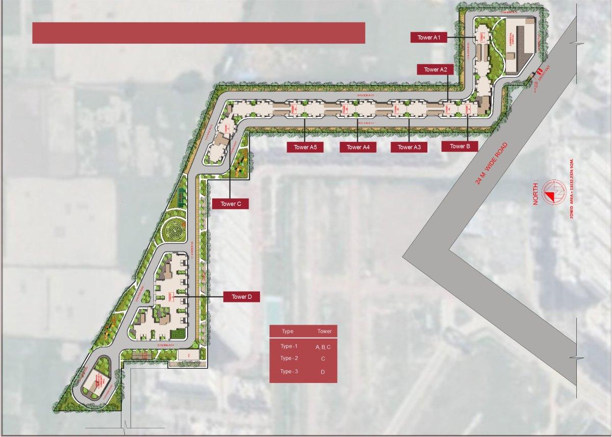 Site Plan Kavyam