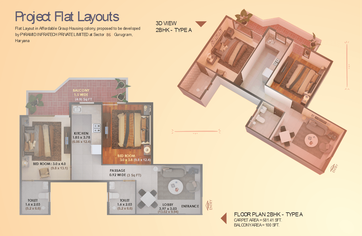 Elite 2BHK Type A